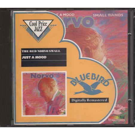 Red Norvo ‎CD Just A Mood The Red Norvo Small Bands / Bluebird Nuovo
