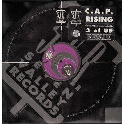 "C.A.P. ‎Vinile 12"" Rising (Remix) SVR (Seven Valley Records) SVR 113 Nuovo"
