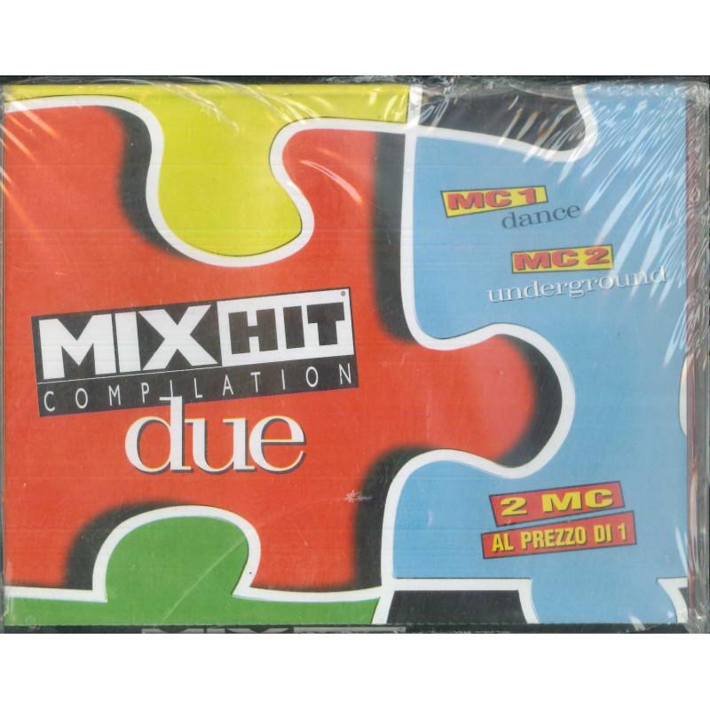AA.VV 2x MC7 Mix Hit Compilation Vol 2 / RTI 13254 Sigillata 8012842132544