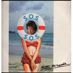 "Betty Miranda Vinile 12"" S.O.S. / Many Records ‎MN 564 Nuovo"