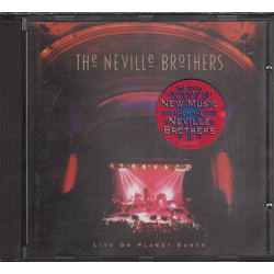 The Neville Brothers CD Live On Planet Earth / A&M Records Nuovo 0731454022521