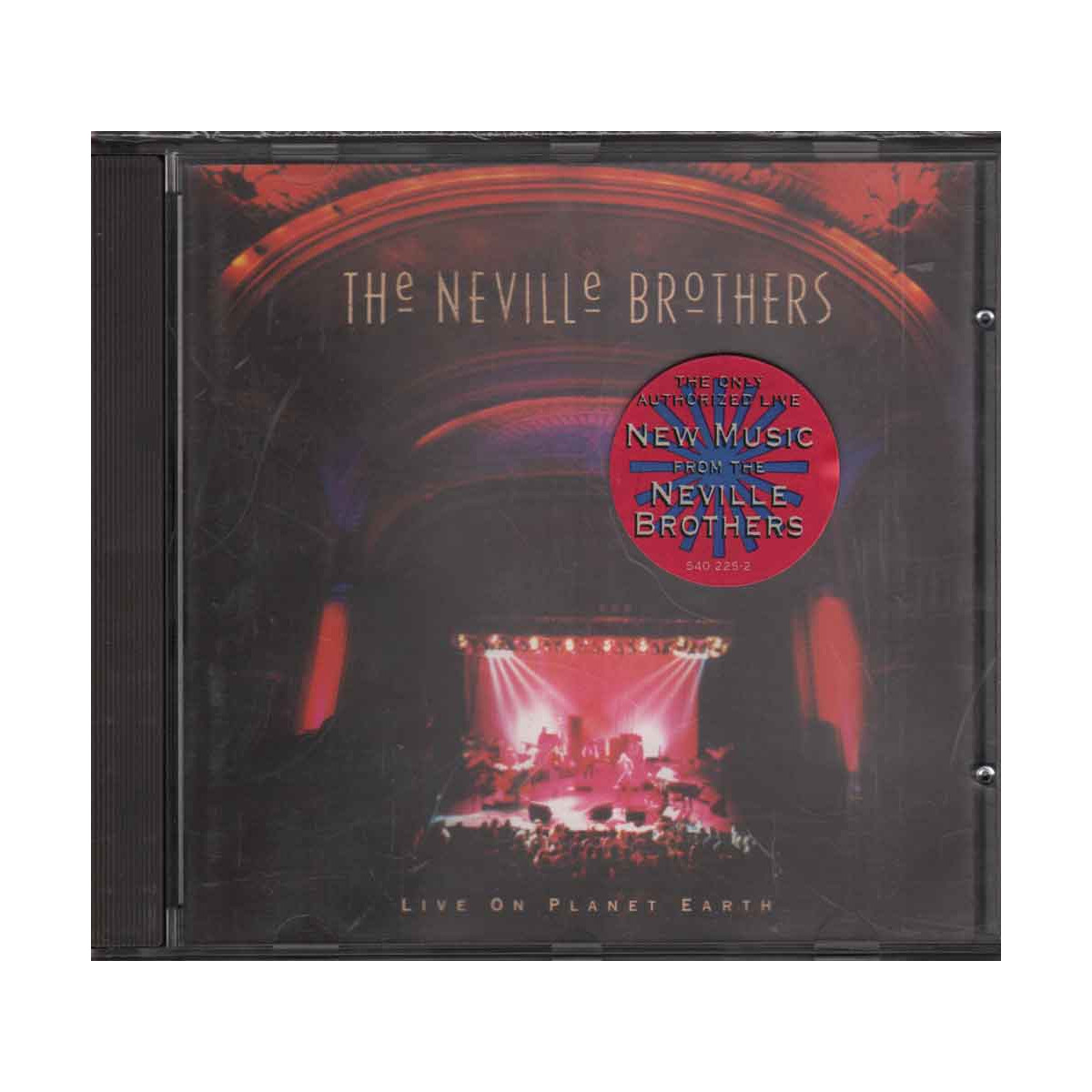 The Neville Brothers CD Live On Planet Earth Nuovo 0731454022521