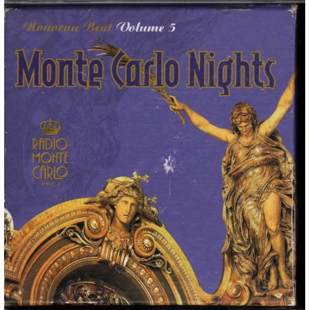 AA.VV. CD Monte Carlo Nights Nouveau Beat Vol 5 Sigillato 5099990778520