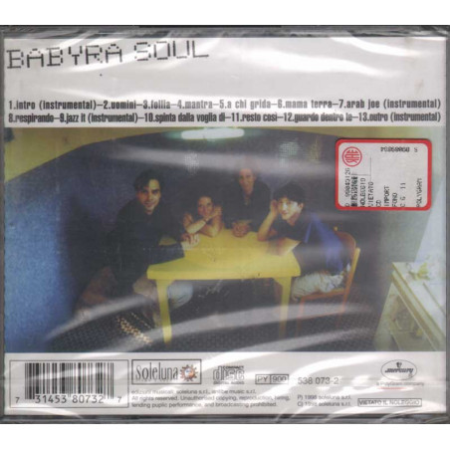 Babyra Soul CD Babyra Soul Nuovo Sigillato 0731453807327