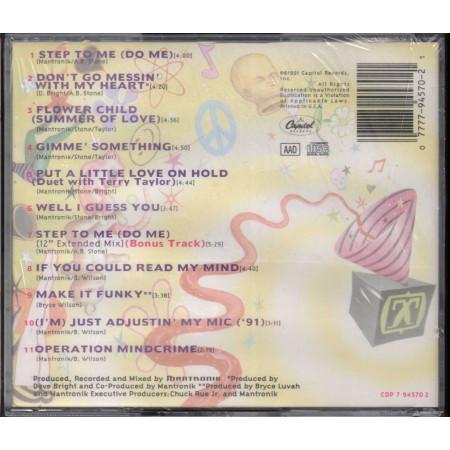Mantronix  CD The Incredible Sound Machine - Usa Nuovo Sigillato 0077779457021