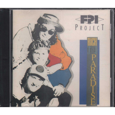 FPI Project CD Rich In Paradise / Paradise Project Records ‎PPR CD 01 Sigillato