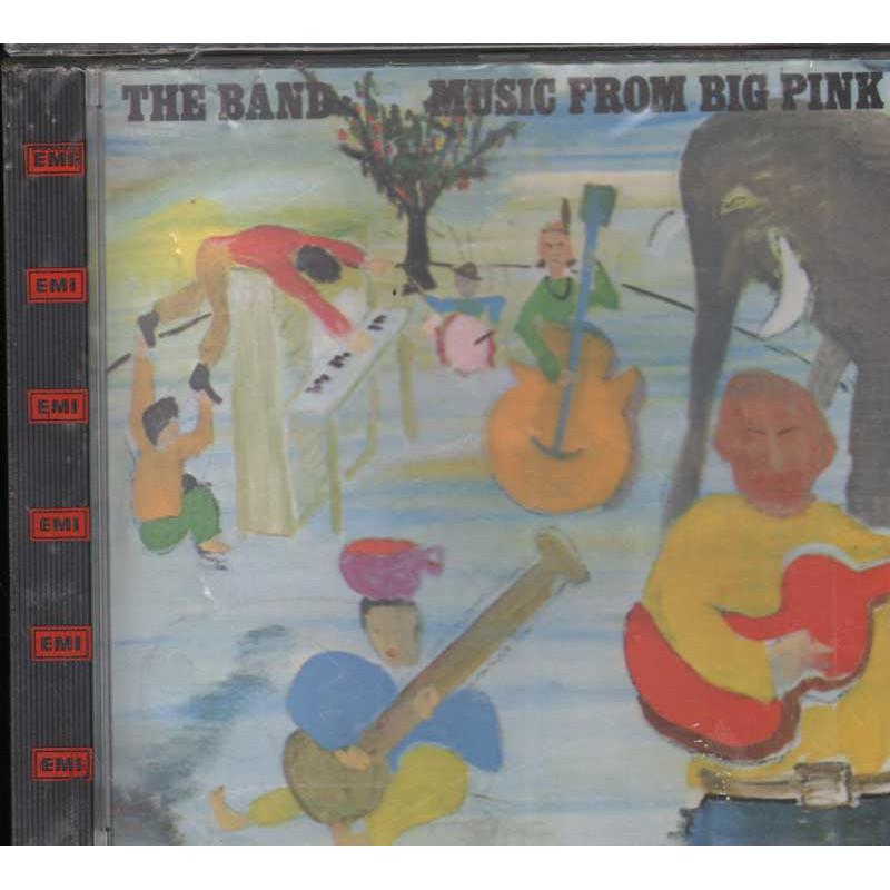 The Band CD Music From Big Pink - No Barcode DIDX 288 USA - Nuovo Sigillato RARO