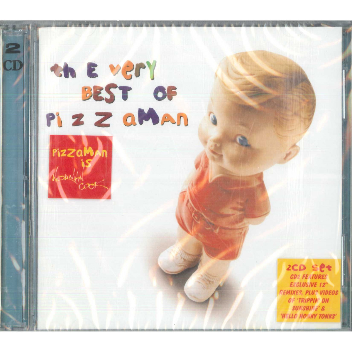 Pizzaman CD The Very Best Of Pizzaman Nuovo Sigillato 5034504114722