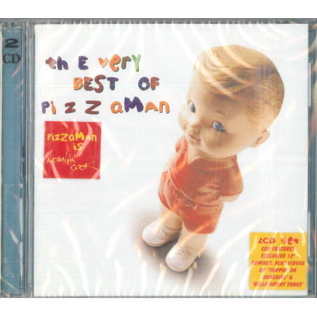 Pizzaman 2 CD The Very Best Of Pizzaman / Eagle Records Sigillato 5034504114722