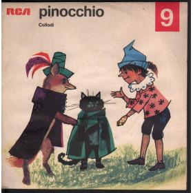 "Perrault Vinile Verde 7"" Pollicino (6) Parte 1 / 2 RCA Nuovo"