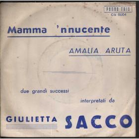 """Giulietta Sacco Vinile 7"""" 'O Paese D''O Sole / Che T'Aggia Di' / Hello Nuovo"""