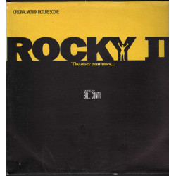 Bill Conti Lp Vinile Rocky II OST Soundtrack / EMI Liberty 54 1827201 Nuovo