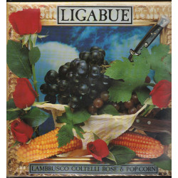 Ligabue Lp Vinile Lambrusco Coltelli Rose & Pop Corn Sigillato 0090317526911