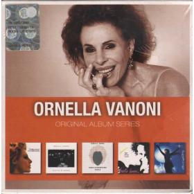 Ornella Vanoni Cof. 5 CD Original Album Series Nuovo Sigillato 5051865936954