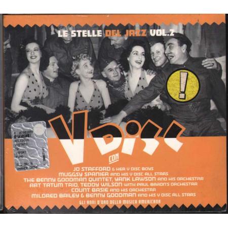 AA.VV. CD Le Stelle Del Jazz Vol. 2 - V Disc / Warner Sigillato 0685738016228