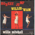"Willie Mitchell ‎Vinile 45giri 7"" Monkey Jump / Willie-Wam Nuovo HL1575"