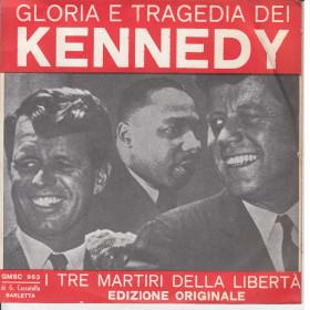 """Salvatore Vinile 7"""" 45 giri Gloria E Tragedia Dei Kennedy GMSC Nuovo"""