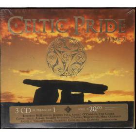 AA.VV. 3 CD Celtic Pride Vol. 2 / Universal Sigillato 0602498393154