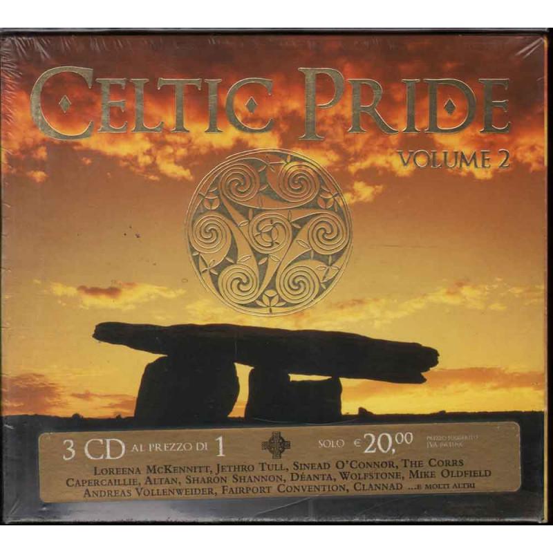 AA.VV. TRIPLO CD Celtic Pride Vol.2 Nuovo Sigillato 0602498393154