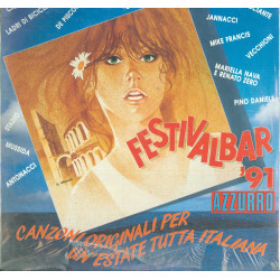 AA.VV. Lp Vinile Festivalbar '91 Azzurro / EMI 66 7970551 Sigillato
