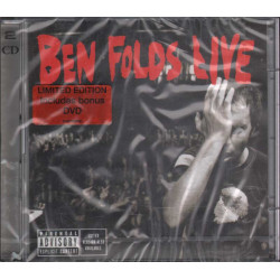 Ben Foldes CD + DVD Live - Limited Edition RARO Nuovo Sigillato 5099750976630