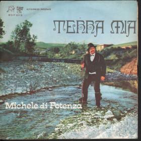 Michele Di Potenza 45 Giri Terra Mia / Cuntana De Malagente - Tiger Folk Nuovo