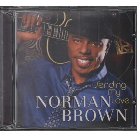 Norman Brown CD Sending My Love / Peak Records Sigillato 0888072313279