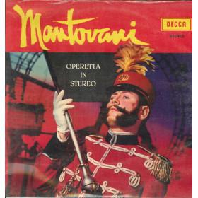 Mantovani Lp Vinile Operetta In Stereo / Decca MS 102 Sigillato