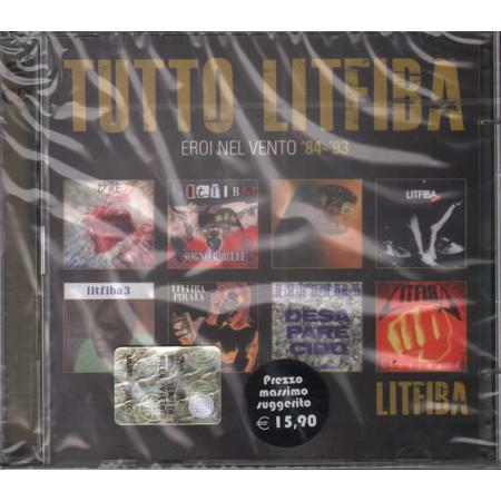 Litfiba DOPPIO CD Tutto Litfiba - Eroi Nel Vento 84-93 Sigillato 5051865915850