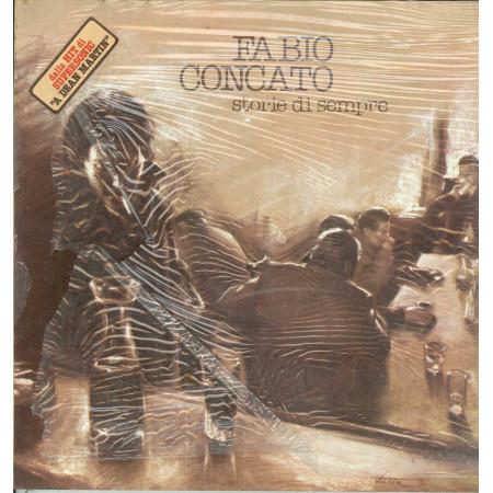 Fabio Concato Lp Vinile Storie Di Sempre / Harmony LPH 8017 Sigillato