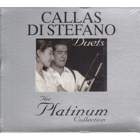 Di Stefano / Callas Box 3 CD The Platinum Collection Sigillato 0094637945629