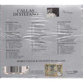 Di Stefano / Callas Cof. 3 CD The platinum collection Sigillato 0094637945629