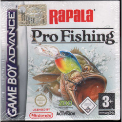 Rapala Pro Fishing Videogioco Game Boy Advance GBA Activision Sigillato