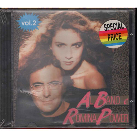 Al Bano & Romina Power CD Al Bano & Romina Power Vol 2 / Baby Records Sigillato
