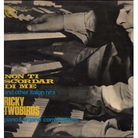 Ricky Twobirds Lp Vinile Non Ti Scordar Di Me / West Record L.D. 57 Nuovo