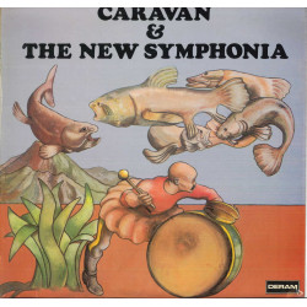 Caravan & The New Symphonia Lp Vinile Omonimo Same / Deram SML-R 1110 Nuovo
