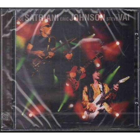 Joe Satriani / Eric Johnson / Steve Vai CD G3 Live In Concert / Epic Sigillato