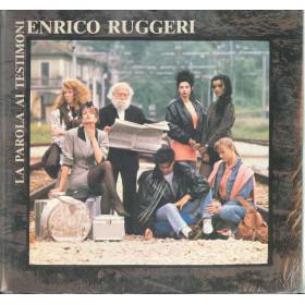 Enrico Ruggeri Lp Vinile La Parola Ai Testimoni / CGD 20846 Sigillato