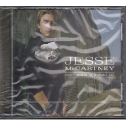 Jesse McCartney CD Right Where You Want Me / Hollywood Sigillato 0094637478820