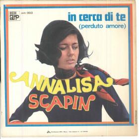 "Annalisa Scapin Vinile 7"" 45 giri Serenata A Vallechiara - ARP Nuovo"