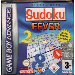 Sudoku Fever Game Boy Advance GBA Nuovo 5026555041218