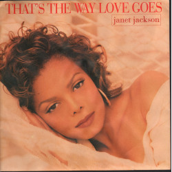 Janet Jackson Vinile 7 45 That's The Way Love Goes / Virgin Nuovo