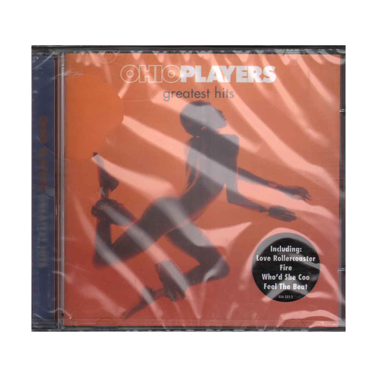 Ohio Players CD Greatest Hits Nuovo Sigillato 0731455432220