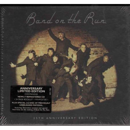Paul McCartney & Wings CD Band On The Run - 25th Anniversary / EMI Sigillato