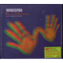 Paul McCartney  CD Wingspan - Hits And History Tridimensionale Sig 0724353287627