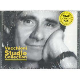 Roberto Vecchioni 2x MC7 Vecchioni Studio Collection EMI 823830 4 Sigillata