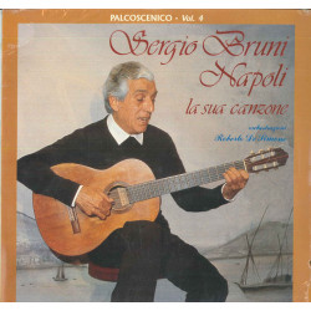 Sergio Bruni Lp Vinile Napoli La Sua Canzone Palcoscenico Vol 4 / CGD Sigillato