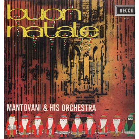 Mantovani & His Orchestra Lp Vinile Buon Natale / Decca MS 103 Nuovo