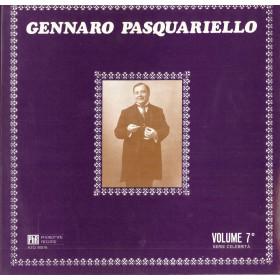 Gennaro Pasquariello Lp Vinile Volume 7 Serie Celebrita' Phonotype Sigillato