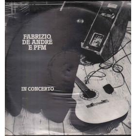 Fabrizio De Andre Lp Fabrizio De André E PFM In Concerto / Fonit Cetra Sigillato